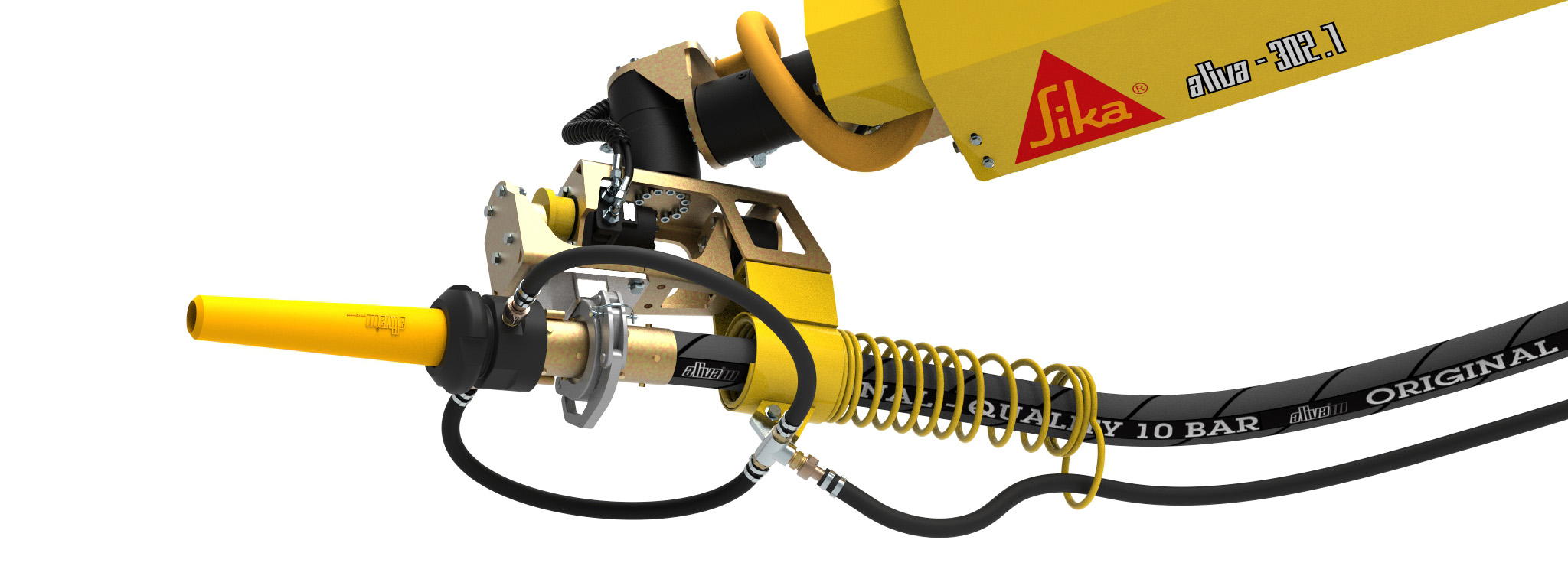 Aliva Converto Robospray thin-stream